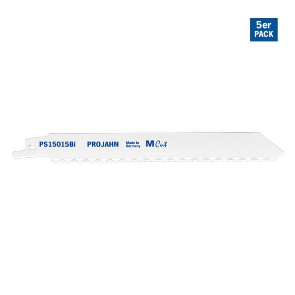 PROJAHN Säbelsägeblatt Holz/Metall 130 mm mit Universalschaft 5er Pack