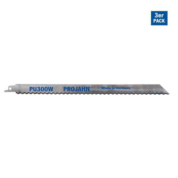 PROJAHN Säbelsägeblatt Isolationsmaterial 280 mm mit Universalschaft 3er Pack