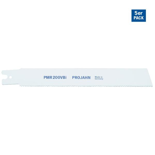 PROJAHN Säbelsägeblatt Holz/Kunststoff 200 mm mit Doppelschaft 5er Pack
