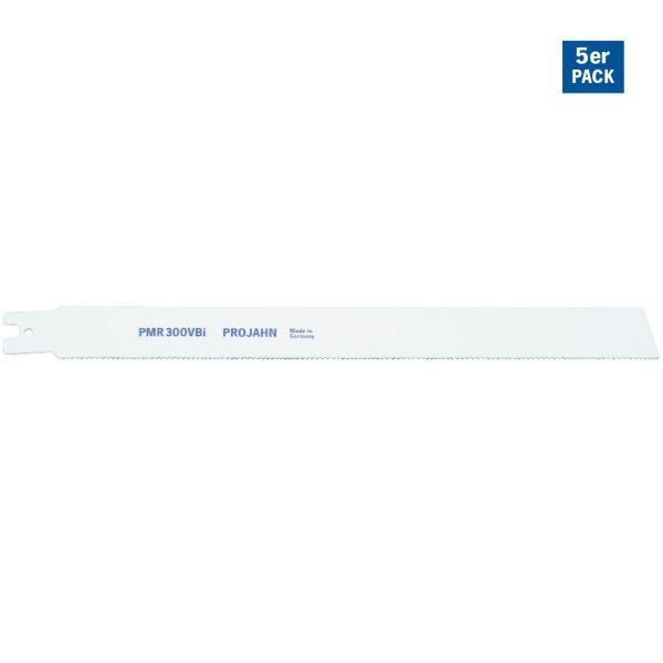 PROJAHN Säbelsägeblatt Holz/Kunststoff 300 mm mit Doppelschaft 5er Pack