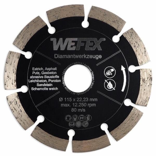 Diamant-Trennscheibe Multi-Abrasiv Ø 115 mm Aufnahme 22,2 mm