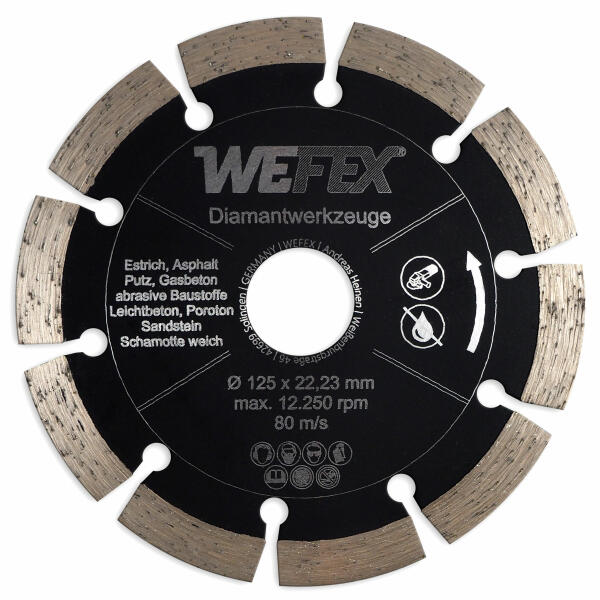 Diamant-Trennscheibe Multi-Abrasiv Ø 125 mm Aufnahme 22,2 mm
