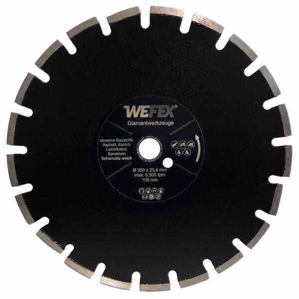 Diamant-Trennscheibe Asphalt-Profi Ø 350 mm Aufnahme 25,4 mm