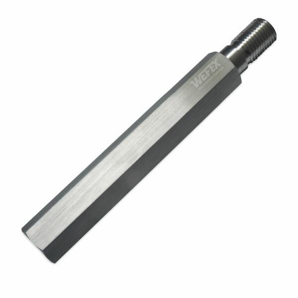 """Aluminium-Bohrkronenverlängerung 250 mm 1 1/4"""" UNC"""