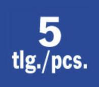 """PROJAHN Spiralbohrer Set 5-tlg. HSS-G Ø 2 - 6 mm 1/4"""" E 6.3 Schaft"""