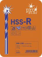 PROJAHN Basic Spiralbohrer Set 19-tlg. HSS-R DIN 338 Typ N Ø 1 - 10 mm Zylinderschaft