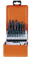 PROJAHN Basic Spiralbohrer Set 25-tlg. HSS-R DIN 338 Typ...
