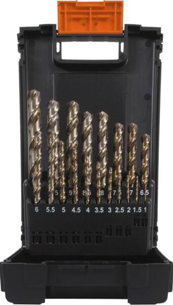 PROJAHN Progresso Spiralbohrer Set 25-tlg. HSS-G DIN 338 Typ SN Ø 1 - 13 mm Zylinderschaft