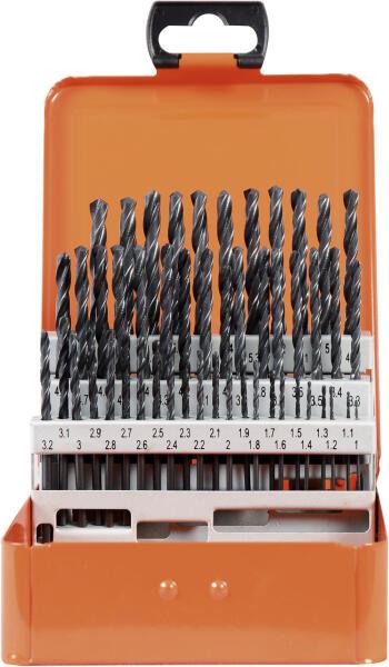 PROJAHN Eco Spiralbohrer Set 50-tlg. HSS-R DIN 338 Typ N Ø 1 - 5,9 mm Zylinderschaft