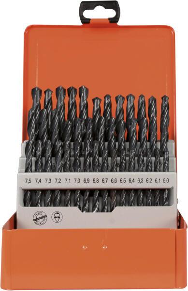 PROJAHN Eco Spiralbohrer Set 41-tlg. HSS-R DIN 338 Typ N Ø 6 - 10 mm Zylinderschaft
