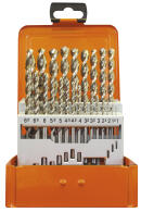 PROJAHN Spiralbohrer Set 24-tlg. HSS-Co 5 % DIN 338 Typ...