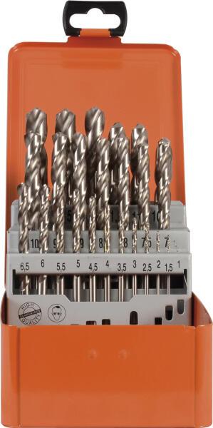 PROJAHN Turbo Spiralbohrer Set 25-tlg. HSS-G DIN 338 Typ N Ø 1 - 13 mm Zylinderschaft