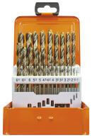 PROJAHN Eco Spiralbohrer Set 24-tlg. HSS-Co 5% DIN 338...