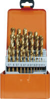PROJAHN Eco Spiralbohrer Set 25-tlg. HSS-G TiN DIN 338...