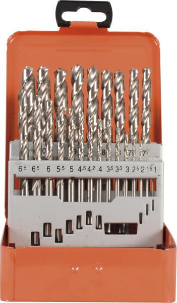 PROJAHN Turbo Spiralbohrer Set 24-tlg. HSS-G DIN 338 Typ N Ø 1 - 10,5 mm Zylinderschaft