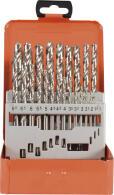PROJAHN Turbo Spiralbohrer Set 24-tlg. HSS-G DIN 338 Typ...