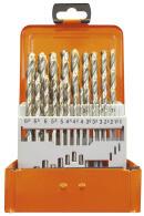 PROJAHN Eco Spiralbohrer Set 24-tlg. HSS-G DIN 338 Typ N...