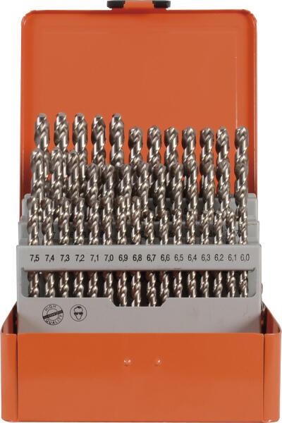PROJAHN Speed Spiralbohrer Set 41-tlg. HSS-Co 5% DIN 338 Typ S Ø 6 - 10 mm Zylinderschaft