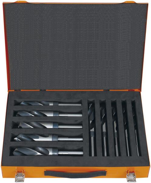 PROJAHN Spiralbohrer Set 10-tlg. HSS-G Werksnorm/Standard Typ N Ø 1 - 26 mm Zylinderschaft