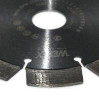 Diamant-Trennscheibe Arxx Titan Stahlbeton Ø 125 mm Aufnahme 22,2 mm