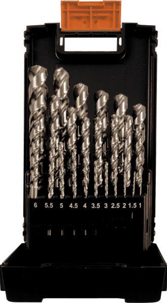 PROJAHN Speed Spiralbohrer Set 25-tlg. HSS-Co 5% DIN 338 Typ S Speed 11 - 13 mm Zylinderschaft
