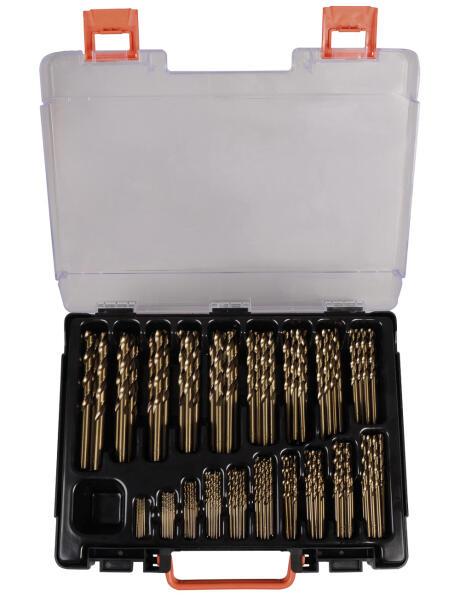 PROJAHN Eco Spiralbohrer Set 170-tlg. HSS-Co 5% DIN 338  Ø 11 - 10 mm Zylinderschaft