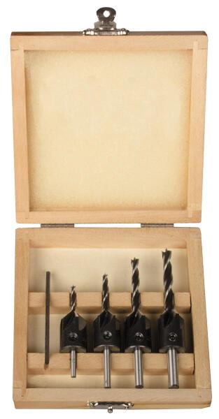 PROJAHN WS-Aufsteckversenker Set 5-tlg. für Holz Ø 3 - 6 mm Zylinderschaft