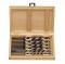 PROJAHN S Holz Schlangenbohrer Set 6-tlg. Ø 10 - 20 mm 600 mm Länge Zylinderschaft
