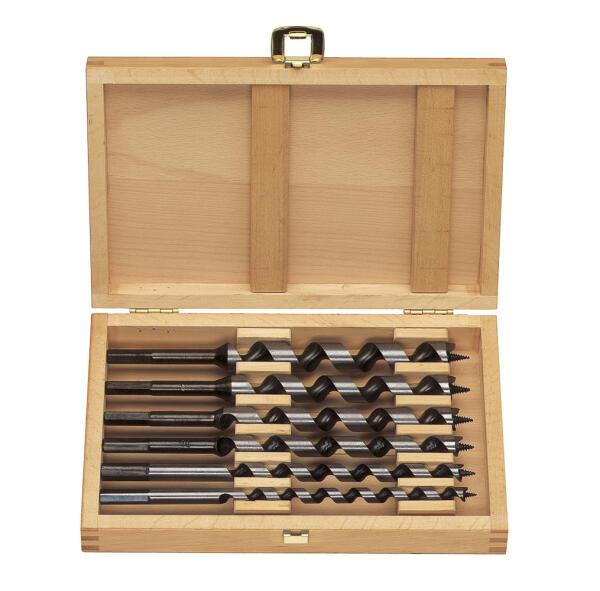 PROJAHN S Holz Schlangenbohrer Set 6-tlg. Ø 10 - 20 mm 320 mm Länge Zylinderschaft