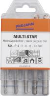 PROJAHN MULTI-STAR Mehrzweckbohrer Set 5-tlg. Ø 4...