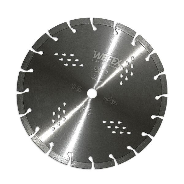 Diamant-Trennscheibe Arxx Titan Stahlbeton Ø 300 mm Aufnahme 25,4 mm