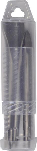 PROJAHN Meißel Set 3-tlg. 140 mm kurze Form SDS-plus
