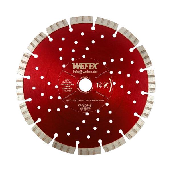 Diamant-Trennscheibe Supersonic Ø 230 mm Aufnahme 22,2 mm