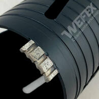 Diamant-Bohrkrone Laser Spezial Ø 162 mm M16 Nutzlänge 180 mm