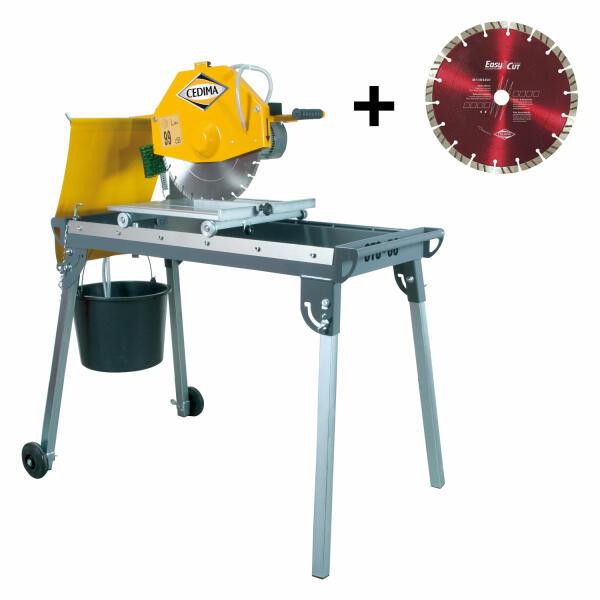 Cedima Tischsäge CTS-56 inkl. Trennscheibe Beton Basic 350 mm