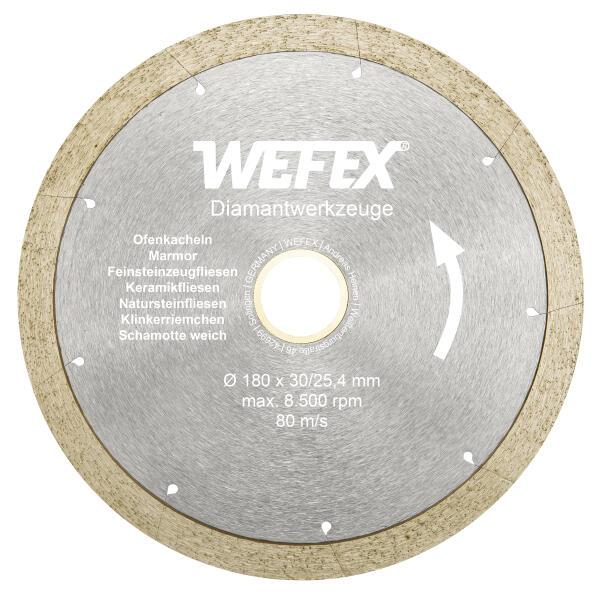 Diamant-Trennscheibe Keramik-Premium Ø 180 - 230 mm Aufnahme 30/25,4 mm