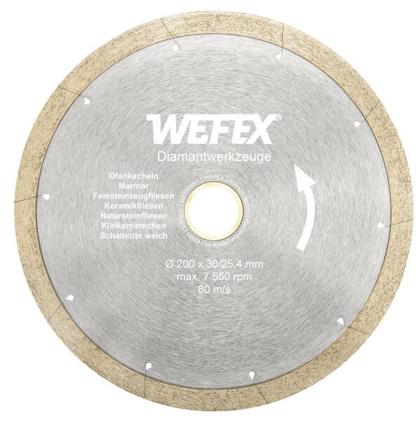 Diamant-Trennscheibe Keramik-Premium Ø 200 mm Aufnahme 30/25,4 mm