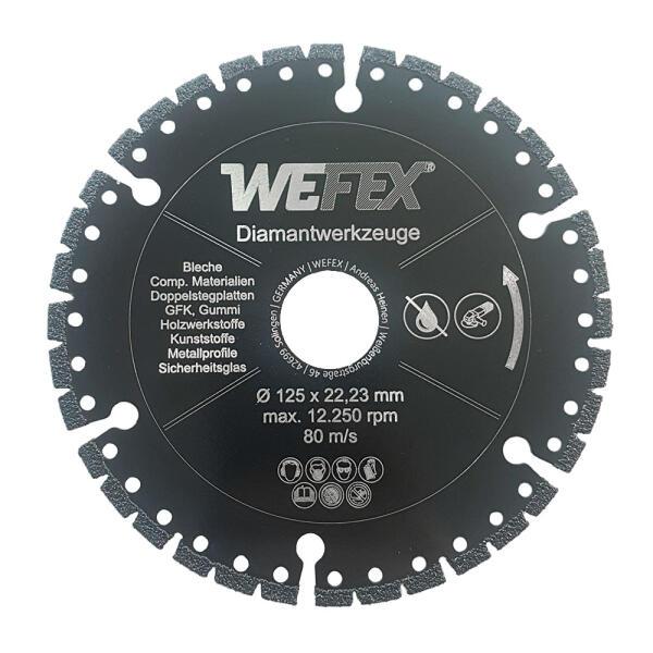 Diamant-Trennscheibe Universal-Profi 115 - 230 mm Aufnahme 22,2 mm