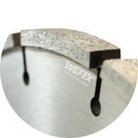 Diamant-Trennscheibe Breitschnitt Asphalt Ø 350 mm Breite 12 mm Aufnahme 25,4 mm