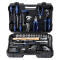 """PROJAHN proficraft Werkzeug-Koffer Universal 1/4"""" + 1/2"""" 98-tlg. inkl. 48-Zahn Umschaltknarre"""