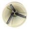 PROJAHN Außen-Entrgater für Metall Ø 3 - 19 mm 6-kant Schaft