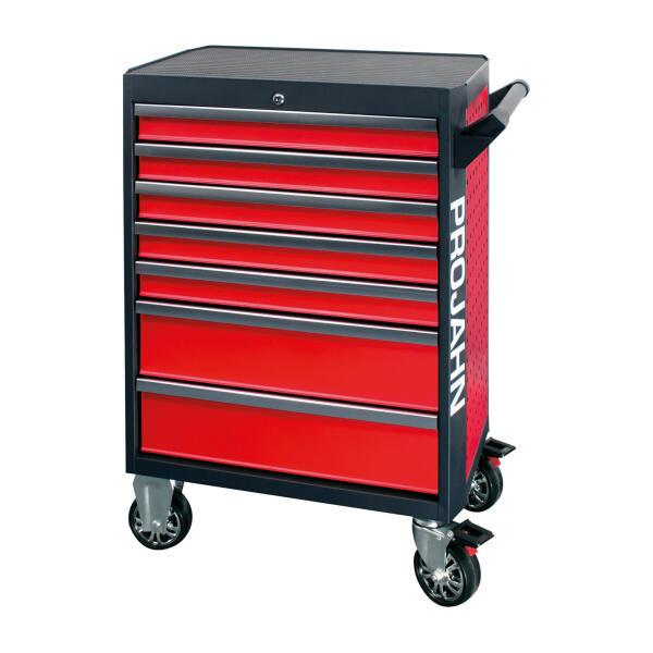 PROJAHN GALAXY Werkstattwagen 7 Schubladen Rot/Anthrazit