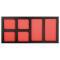 PROJAHN GALAXY Werkstattwagen 415-tlg. bestückt + Aufsatz + Dosenhalter + Papierrollenhalter Rot/Anthrazit