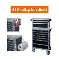 PROJAHN GALAXY Werkstattwagen 415-tlg. bestückt +...