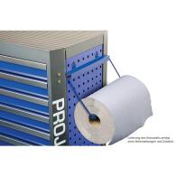 PROJAHN GALAXY Werkstattwagen + Aufsatz + Dosenhalter + Papierrollenhalter Blau/Anthrazit