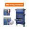 PROJAHN GALAXY Werkstattwagen 415-tlg. bestückt + Aufsatz + Dosenhalter + Papierrollenhalter Blau/Anthrazit