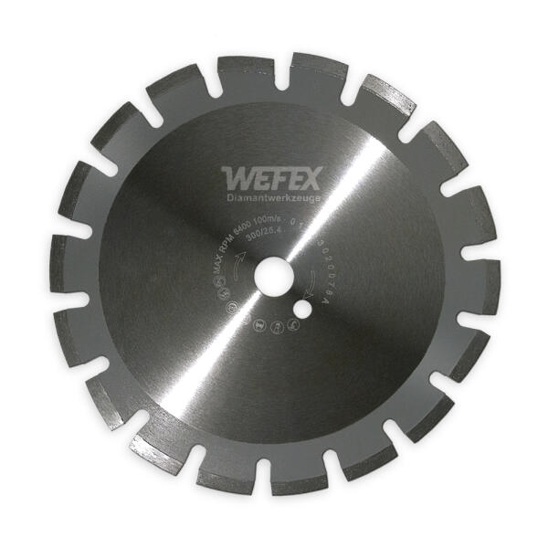 Diamant-Trennscheibe Laser-Asphalt Ø 300 mm Aufnahme 25,4 mm