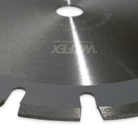 Diamant-Trennscheibe Laser-Asphalt Ø 400 mm Aufnahme 25,4 mm