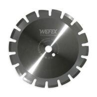 Diamant-Trennscheibe Laser-Asphalt Ø 650 mm Aufnahme 25,4 mm