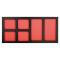 PROJAHN ProForm Werkstattwagen-Einlage mit 6 Fächern für Kleinteile